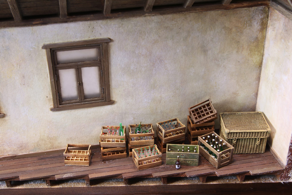 茅葺き屋根の小屋製作